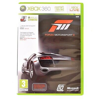 Forza Motorsport 3 For Microsoft Xbox 360 - Complete - PAL