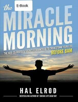 The Miracle Morning by Hal Elrod Fast Delivery (Read Description)