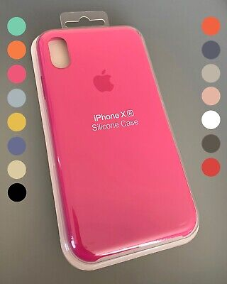 Genuine Official Apple iPhone Silicone Case for iPhone X, XS, XS Max & XR