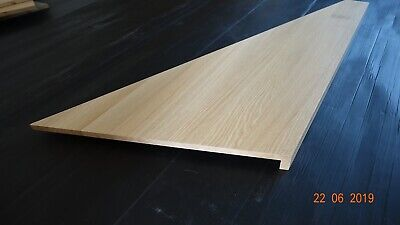 SOLID WOOD OAK Timber Stair Cladding 995mm, Wooden Staircase Tread