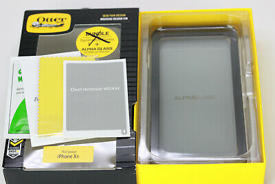 Authentic OtterBox Alpha Glass Series Screen Protector CLEAR for iPhone Xr NEW!