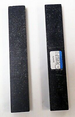 RAHN PRECISION BLACK GRANITE METROLOGY PARALLELS  9 X 1.5 x 0.75""