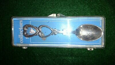 West Virginia Collector Spoon Hearts Shape of State Original Box