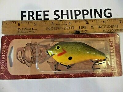 The Original Wood Reproduction Fred Young Big O Fishing Lure Cotton Cordell,