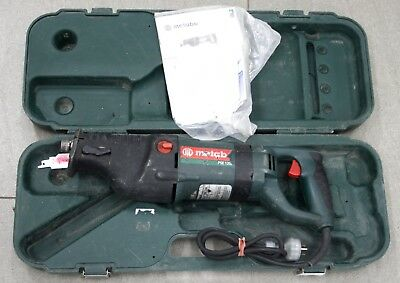 Metabo Reciprocating Saw Corded 1200W Sabre Heavy Duty Cut Wood Metal PSE1200
