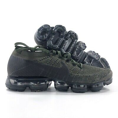 Nike Air Vapormax Flyknit Cargo Khaki Green Black Olive 849558-300 Men's 10