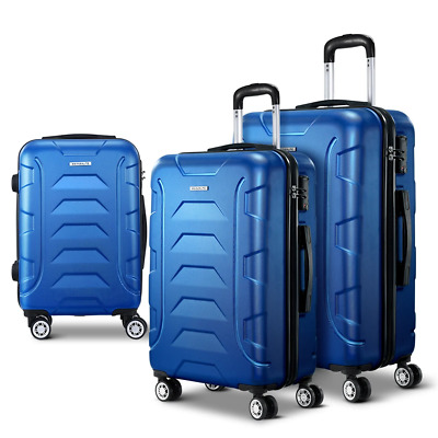 Wanderlite 3PCS Carry On Luggage Sets Suitcase TSA Travel Hard Case Lightweight