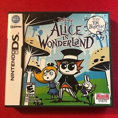 Alice in Wonderland (Nintendo DS, 2010) (CIB) (VG)
