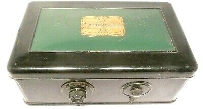 vintage  ATWATER KENT #46 BREADBOX w/ all 8 TUBES & POWER SUPPLY  Untested