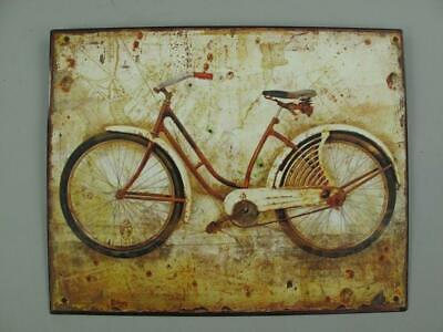 Metal Sign,Advertisement Sign,Ladies Bicycle Engineering Wc Wall Sign 7 7/8x9