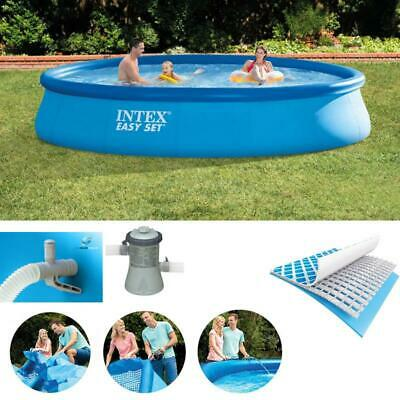 INTEX SWIMMING POOL Easy Set Pumpe Schwimmbecken ...