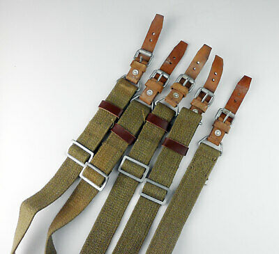 1PCS Chinese Military Canvas Rifle Sling TWO POINT STRAP Webbing UP TO 55''
