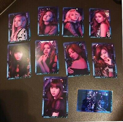 """Twice Japan 5th Single """" breakthrough """" - Official PhotoCard - Full Set of 10"""