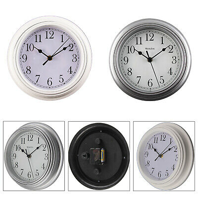 Shabby Chic Vintage Small Wall Clock White or Grey Kings Cross London Home
