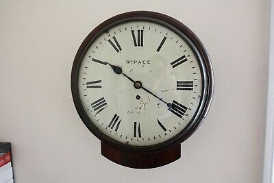 LONDON FUSEE WALL CLOCK by Wm Page Numbered clock 435 GWO