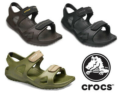 Crocs Mens Swiftwater River Beach Holiday Open Toe Touch Fastening Sandal UK6-12