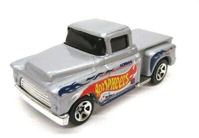 Hot Wheels Flashsider 56 Chevy Pickup Truck (Silver) from Race Team 3 III Pack