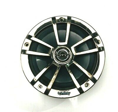 Infinity Marine Speaker 6.5 Water Resistant Silver With Chrome Cover