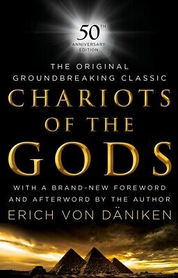 Chariots of the Gods: 50th Anniversary Edition Hardcover NEW