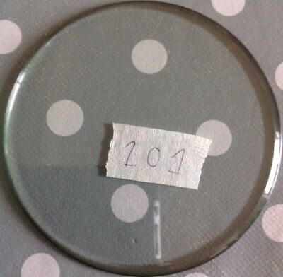 Clock Glass Bevelled Flat Round 101mm 2.2mm Bevel Clockmakers Spare Part