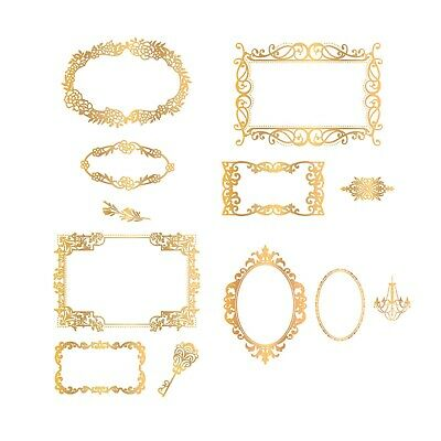 Couture Creations - Cut, Foil & Emboss Decorative Nesting Frames Die Collection