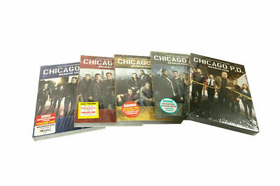 Chicago P.D. PD: Complete Series Seasons 1-5(DVD, 2018, 27-Discs) 1,2,3,4,5,New