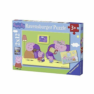 Puzzle Ravensburger 12 Teile - 2 Puzzles - Peppa Pig (54115)