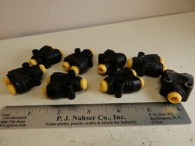 Parker Pneumatic Fittings 6mm Y Shaped T Push to Connect (8) Prestolok
