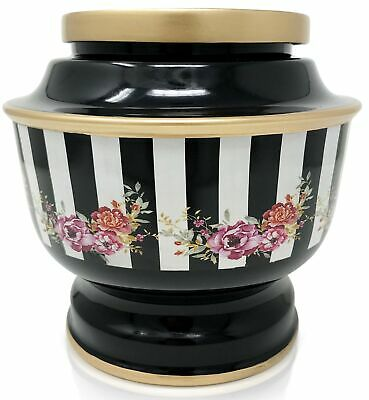 SmartChoice Classic Flower Funeral Cremation Urn for Human Ashes Adult, with ...