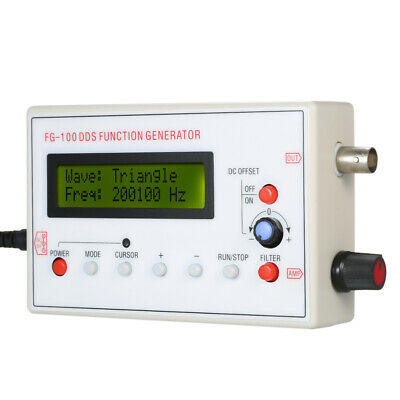 1HZ-500KHZ DDS Functional Signal Generator Sine Square Triangle Wave Test H7Q9