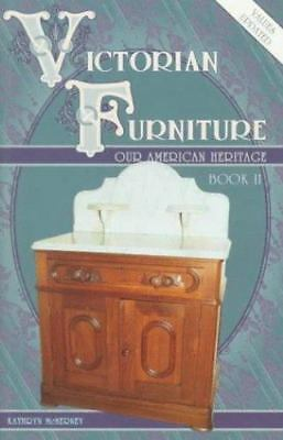 Victorian Furniture: Our American Heritage, McNerney, Kathryn, Good Book
