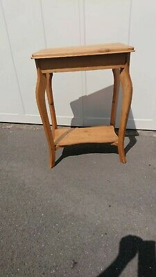Small Antique Pine side table,occasional,waxed