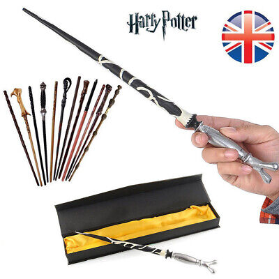 UK Magic Wand Boxed Harry Potter Hermione Dumbledore Voldemort Wand Cosplay