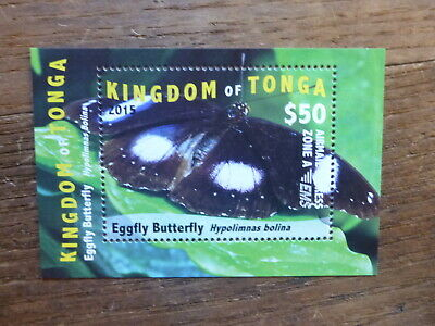 Tonga 2015 Butterflies $50 Rate Mint Stamp
