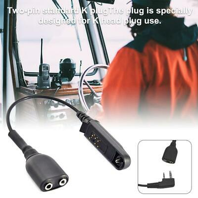 Audio Cable Adapter For Baofeng BF-9700 A-58 UV-XR UV-5S GT-3WP UV-9R Plus