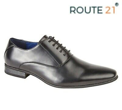 BOYS FORMAL SMART Wedding Lace Up Black Oxford Tie Shoes Size 11 12 13 1 2 3 4 5