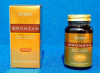 Bronzan  - Sunless Tanning Pills - Bronze Color -Tanning Tablets - Tan Booster