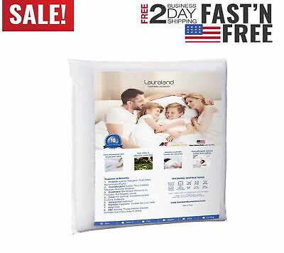 New Mattress Cover Protector Waterproof Pad King Size Bed Cover Hypoallergenic