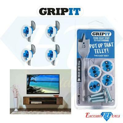 GripIt Plasterboard Wall TV Mounting Kit
