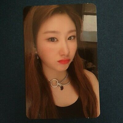 Chaeryeong - Official Photocard ITZY 1st Mini Album IT'z ICY Photocard Kpop