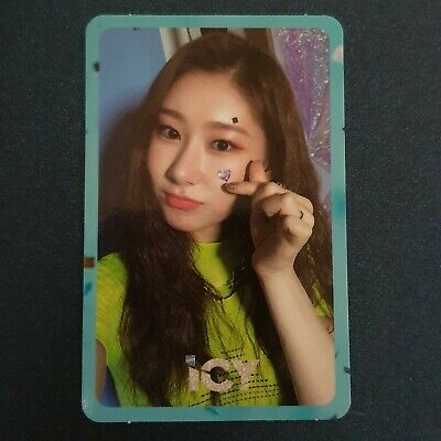 Chaeyeong - Official Photocard ITZY 1st Mini Album IT'z ICY Photocard Kpop