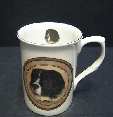 dog Fine Bone China Mug Cup Beaker Head BF King Charles Spaniel