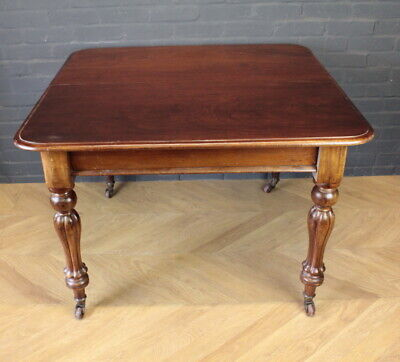 Early Victorian Mahogany Extending Dining Table