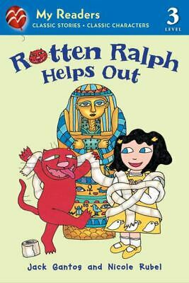 Rotten Ralph Helps Out (My Readers, Level 3)