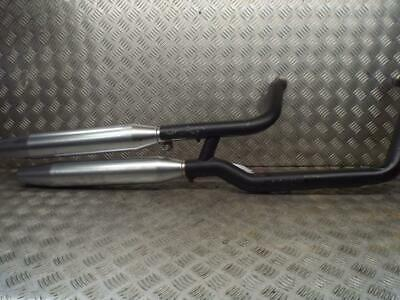 Harley Davidson FLSTFB Fatboy Low 2010-2011 Exhaust System Cans Pipes