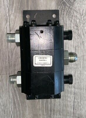 New Concentric Rotary Gear Hydraulic Flow Divider (#1300635)