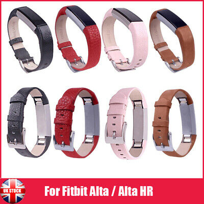 For Fitbit Alta / Alta HR Replacement Leather Watch Band Loop Strap Bracelet