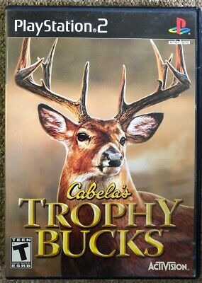 Cabela's Trophy Bucks (Sony PlayStation 2, PS2 2007)