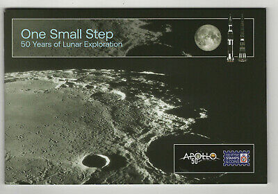 Space Apollo 11 Moon Landing 50th anniversary 2019 Isle of Man stamp booklet MNH