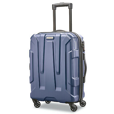 "Samsonite Centric Hardside 20"" Expandable Carry-On Spinner Wheel Luggage, Navy B"